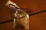 Chocolate handbag