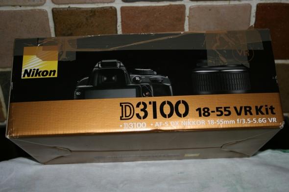 It's a NIKON D3100 camera!
