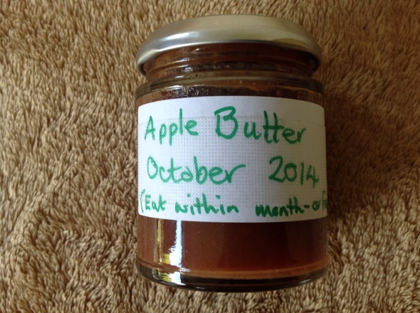 Home made apple butter