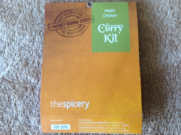 Curry in a kit!